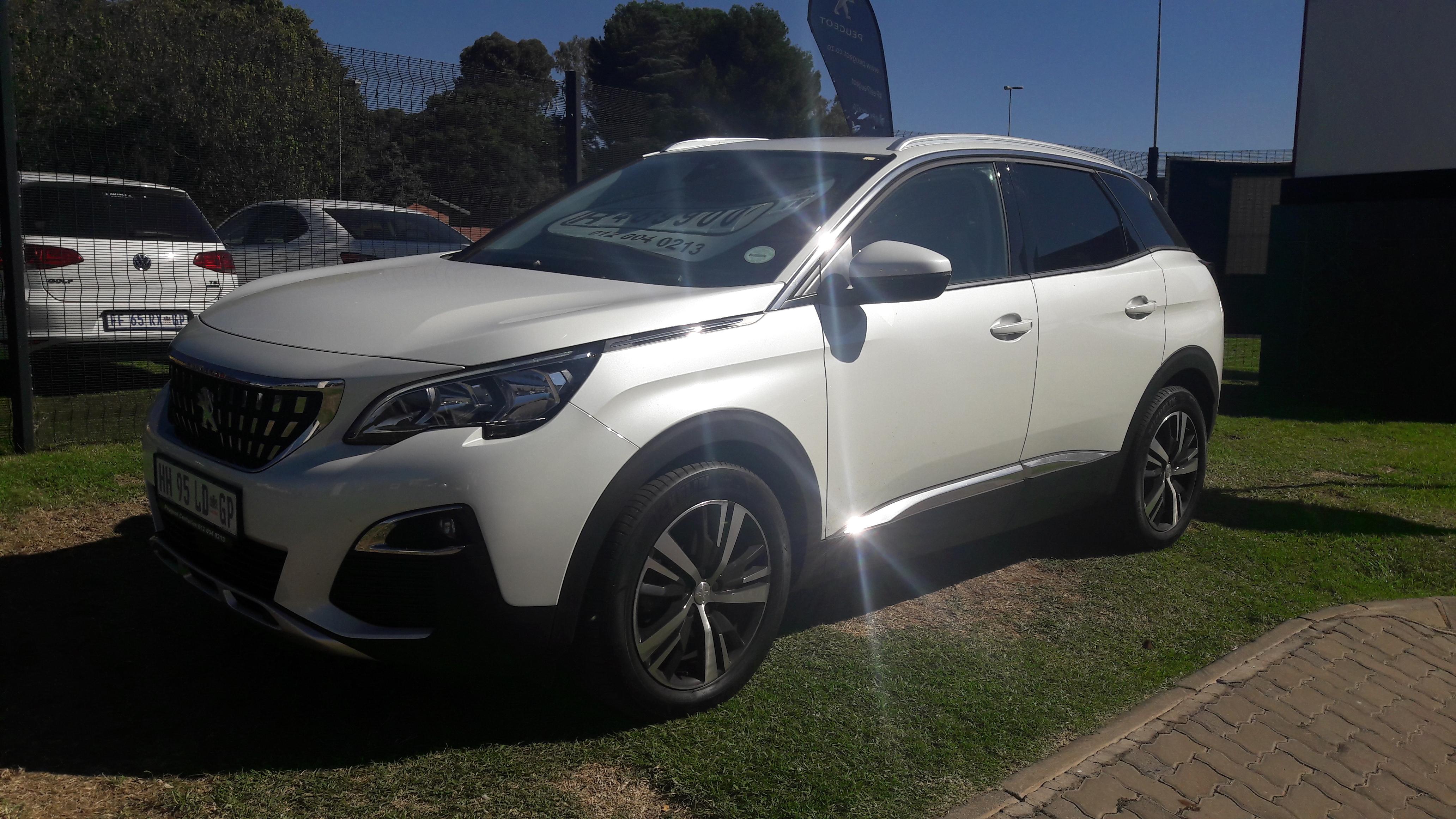 Used Peugeot 3008 SUV Allure 2018